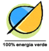 100% Green Electricity - 100% Energia Verde logo