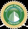 Greener Product Certification Seal logo