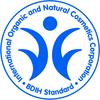 International Organic and Natural Cosmetics Corporation BDIH Standard logo