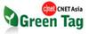 CNET Asia Green Tag logo