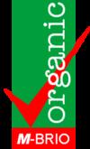M-BRIO Organic and Food Labeling logo