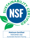 NSF/ANSI 332 Sustainability Assessment for Resilient Floor Coverings logo