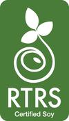 RTRS Certified Soy logo
