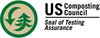 US Composting Council Seal of Testing Assurance logo